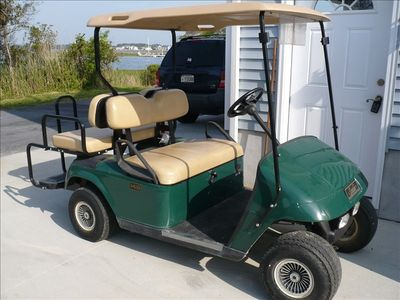 Take a Ride to Pool in Gulf Cart, must be kept in our Subdivision
