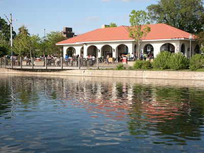 Lake Calhoun Refectory--Home of the Tin Fish only 2 blocks away. Fish tacos!