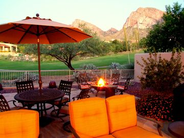 Oro Valley house rental - This private patio is a great spot for sure! Morning, Noon, and Night!