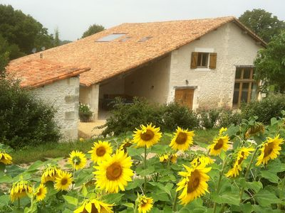 Barn Conversion Near Aubeterre-sur-dronne On The Charente/Dordogne Border
