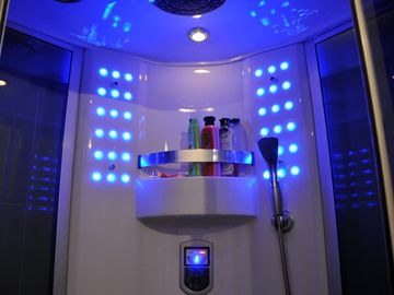 Jacuzzi Shower with multiple jets and Radio