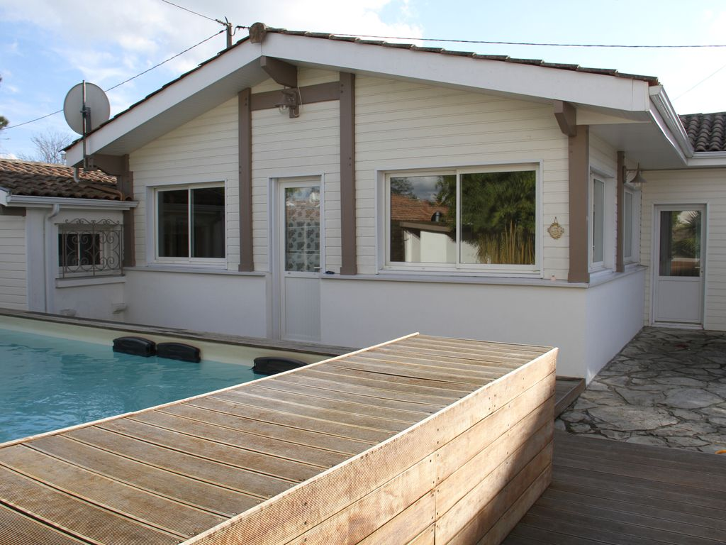 Air-conditioned house, close to the beach , La Teste