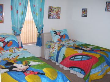 Bedroom 3 - Disney themed