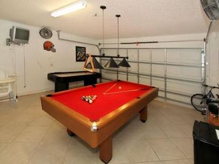Emerald Island villa photo - Games room for entertainment and bikes to explore the miles of wooded trails.