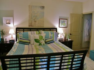 Navarre Beach condo photo - Beautifully decorated 3rd bedroom with private bath.