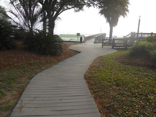 Port Royal villa photo - Boardwalk to the beach and pier.