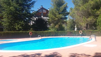 Nice apartment in the center of Jaca with elevator, garage and pool