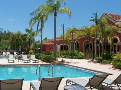 Relax on a lounger , read a book or play a little volleyball in the pool.