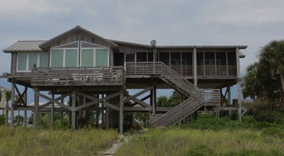 Alligator Point Beachfront Home -Endless Summer equals endless views!!