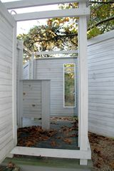 Truro house photo - Outdoor Shower with Privacy Doors Open