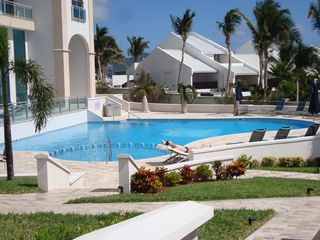Cupecoy condo photo - Outdoor pool area