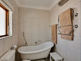 Constantia villa photo - Main on suite bathroom with bath,shower & bidet