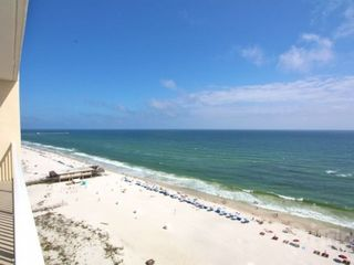 Gulf Shores condo photo - View from the balcony to the east