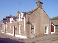 A quaint Victorian cottage in a picturesque Scottish fishing village