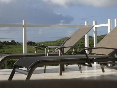 Enjoy the View from the Deck with Chaises