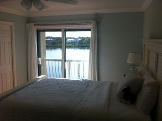 View of the Intracoastal Waterway from downstairs Master Bedroom - Indian Shores condo vacation rental photo