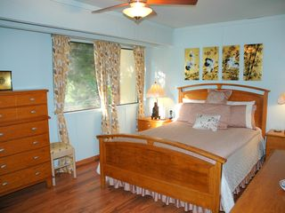 Princeville condo photo - Main floor master bedroom with bathroom
