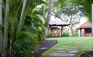 Lahaina condo photo - Enjoy one of the private Balinese style cabanas throughout the property