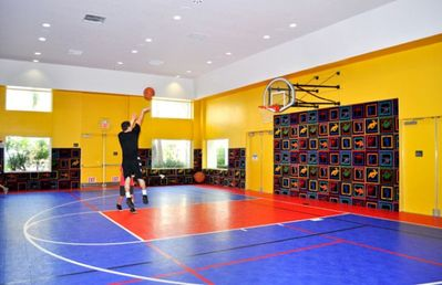 Indoor Basketball Court at the Palm Canyon Resort