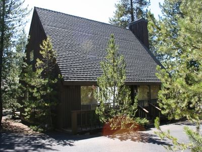 Sunriver house rental - Beautiful, warm, cozy cabin feel