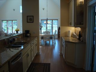 New Buffalo cottage photo - Kitchen/Dinning light streaming in thru the front