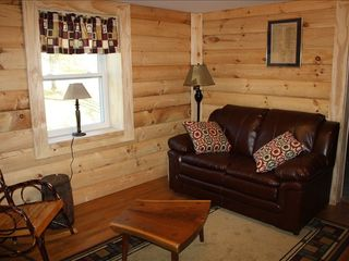 Lancaster apartment photo - Relax in the log-den room reading w/ only the sound of Amish buggies passing-by.