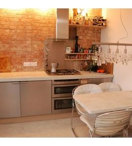 Islington apartment rental - Barnsbury Lounge; kitchen dining area
