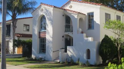 Quintessential Santa Barbara home within easy walking distance of downtown.