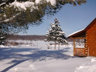 winter wonderland - Colton cottage vacation rental photo