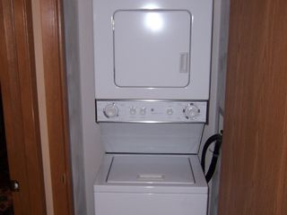 Seven Springs condo photo - Washer, Dryer, Iron and Ironing Board