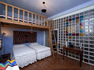 Bologna apartment photo - The loft bedroom - perfect for the kids!