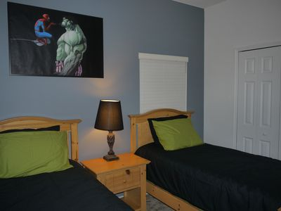 Magic Landings villa rental - Twin Hero Bedroom