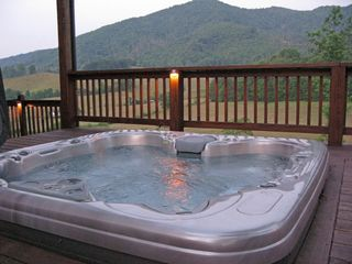Burnsville cabin photo - Jacuzzi