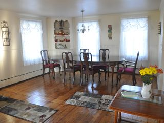 Niagara Falls estate photo - All hardwood floors at the Niagara View Estate, walk out to wrap around veranda