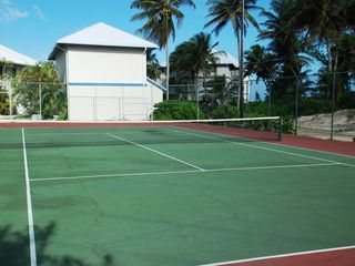 Grand Cayman condo photo - Retreat at Rum Point - Tennis Court (new court coming in Dec. 2012)