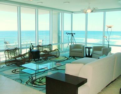 Floor to Ceiling Windows & Gulf View