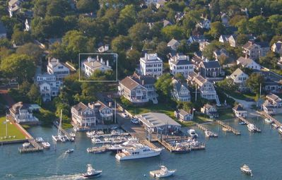 Captain Morse House in Edgartown from the water