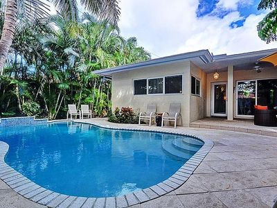 Fort Lauderdale house rental - Pool & Patio