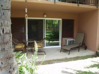 "Honokowai condo photo - Private ""ground floor"" lanai area!"