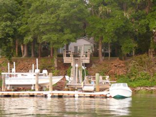 Bluffton cottage photo - view from the river
