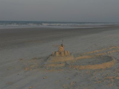 Enjoy sandcastle contests thru the Summer!