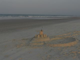 Ormond-by-the-Sea house photo - Enjoy sandcastle contests thru the Summer!