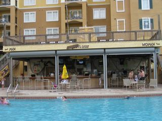 Lake Buena Vista condo photo - Poolside Tiki Bar