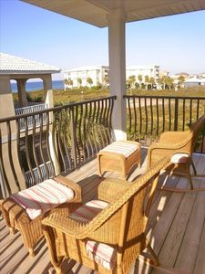 One of the three balconies - enjoy the sea breeze!
