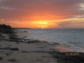 Get lost! in the sunsets of North Caicos.