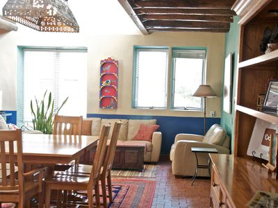 Albuquerque house rental - Open living spaces.