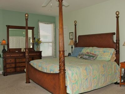 Bedroom #1 - King Master with lanai for enjoying gorgeous gulf views!