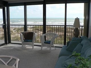 South Padre Island condo photo - View from kitchen table