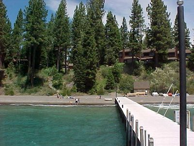 Lake/Private Beach, Pier