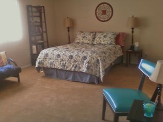 Glendale townhome photo - Lg Mstr bdrm w/Queen bed and full futon.